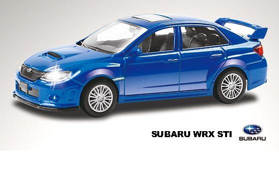 Купить RMZ Модель автомобиля Subaru WRX STI, масштаб 1:43 [444006], Игрушечные машинки и техника