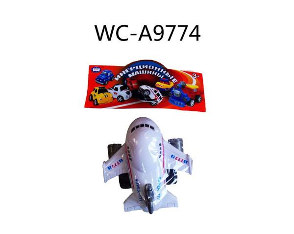 Купить JUNFA TOYS Самолет инерционный, 777 [777], пластмасса, Китай, Сборные игрушечные модели