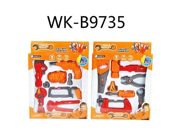 Купить JUNFA TOYS Набор инструментов, 7 предметов [36778-44], пластмасса, Китай, Детские наборы инструментов
