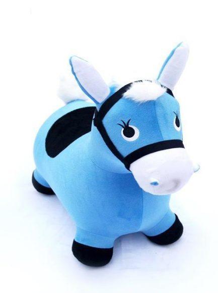 Купить НАША ИГРУШКА Игрушка Лошадка-попрыгунчик (голубой) [63797], Наша игрушка, Голубой, Детские мячи и прыгуны