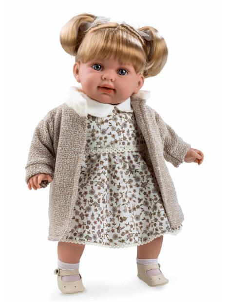 Купить ARIAS Кукла функциональная, в бежевой кофте, 42 см [Т11129], Текстиль, винил, Куклы и пупсы