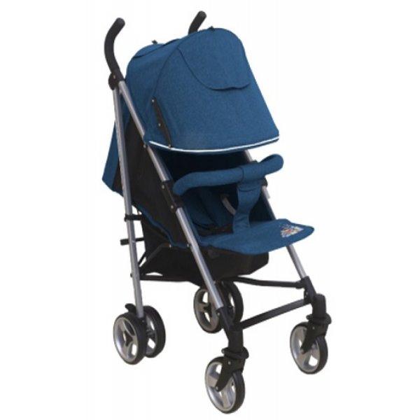 Купить ALIS Коляска-трость Alis Gamma (цвет: синий) [УТ0010125], пластик, Металл, Текстиль, Детские коляски