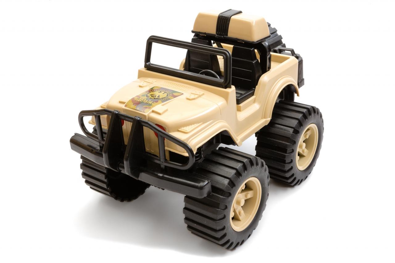 Купить Игрушка ПЛАСТМАСТЕР 31826 Джип Дельта, Пластмасса, металл, Для мальчиков, Россия, Игрушечные машинки и техника