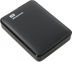 Внешний жесткий диск 2 Тб Western Digital Elements Portable (WDBU6Y0020BBK-WESN) Micro USB Type-B, черный