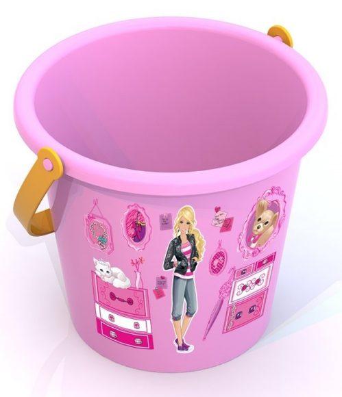 Купить НОРДПЛАСТ Barbie. Ведро среднее БАРБИ 1, 5х13, 5х11, 5 см. [Н-431834], Нордпласт, Детские наборы в песочницу