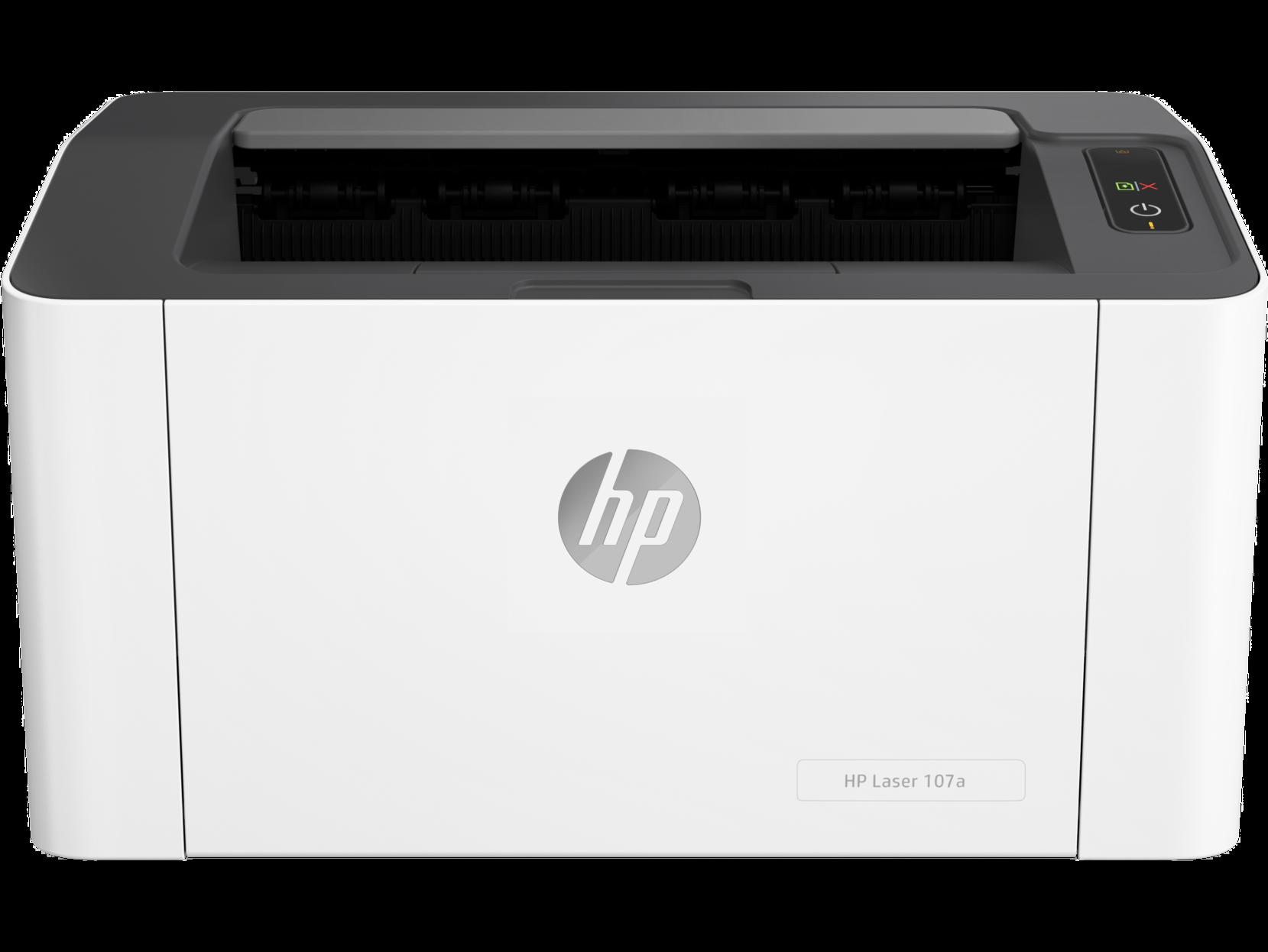 Монохромный лазерный принтер HP Laser 107a, Белый, Китай  - купить со скидкой
