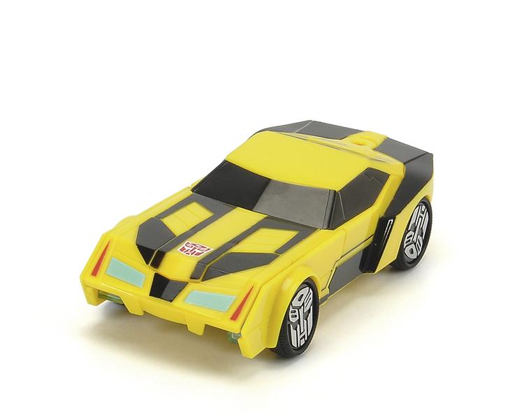 Купить Машина пластиковая DICKIE 3113000 Трансформер Bumblebee (свет, звук) 15см, Dickie Toys, Пластмасса, металл, Для мальчиков, Китай, Роботы и трансформеры