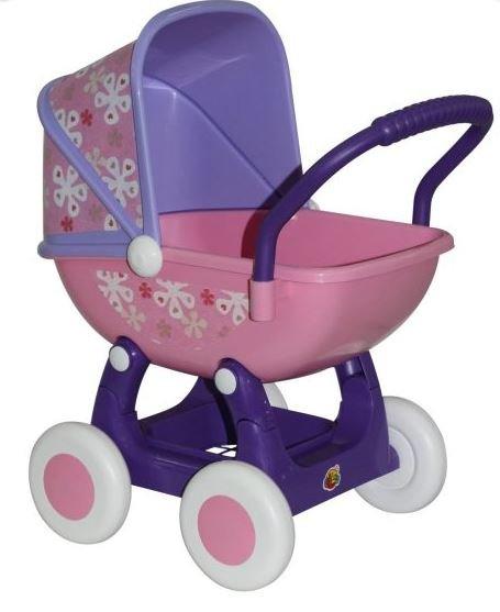 Купить ПОЛЕСЬЕ Коляска для кукол Arina №2 4-х колёс., [48219], полипропилен, Беларусь, Коляски для кукол