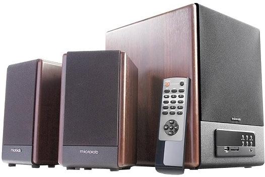 Купить Колонки Microlab FC 530U Wooden, Коричневый, Китай