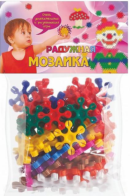 Купить БИПЛАНТ Радужная мозаика (70 элементов) [11031], Мозаика для детей