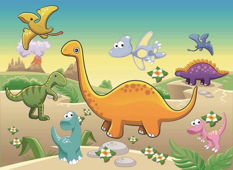 Купить COLOR KIT Мозаика-стикеры 3D Динозавры [DF-A-6613 ], Наклейки для творчества