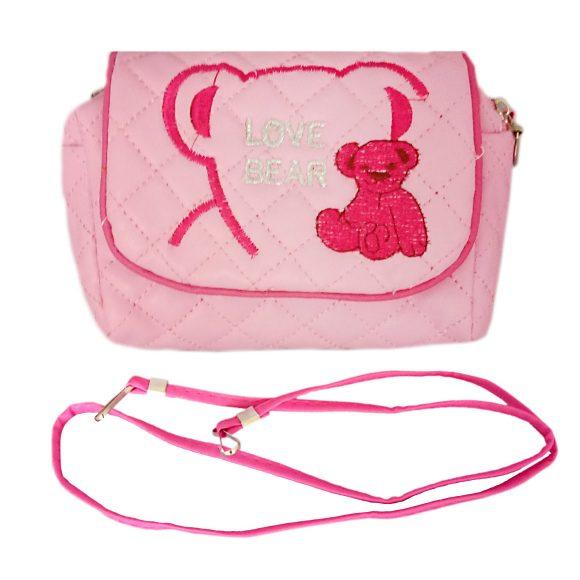 Купить НАША ИГРУШКА Сумочка Любимый мишка роз., 13*7, 5 см [635845], Наша игрушка, Розовый, Рюкзаки и ранцы для школы
