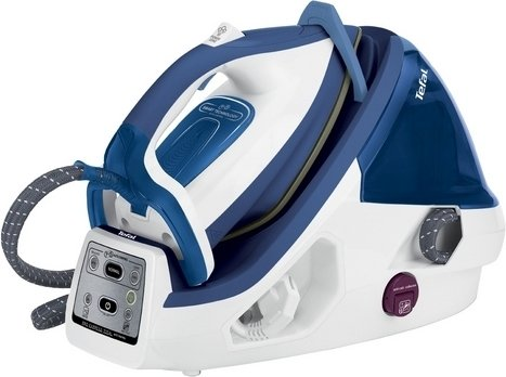 Утюг с парогенератором Tefal Pro Express Plus GV8931 белый/синий