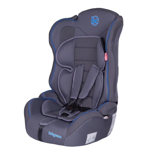 Купить Детское автокресло Baby Care Upiter 1512, 9 - 36 кг (41 x 68 x 47 см) Серый / Голубой, Серый Голубой, Детские автокресла