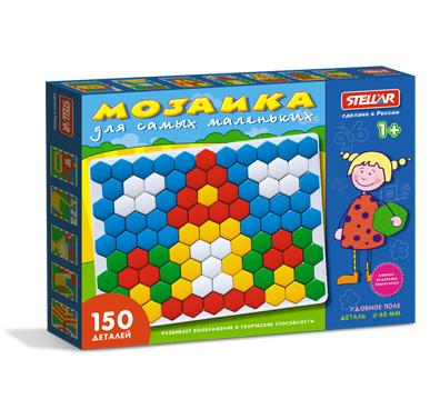 Купить СТЕЛЛАР Мозаика (150 деталей) [1042], полипропелен, Россия, Мозаика для детей
