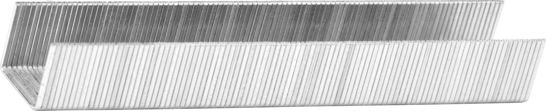 Скобы тип 53, 14 мм, супертвердые, KRAFTOOL 31670-14, 1000 шт PRO фото