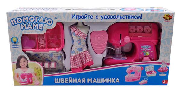 Купить ABTOYS Швейная машинка [PT-00545(WK-B8043)], пластмасса, Детские кухни и бытовая техника
