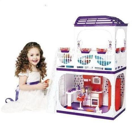 Купить ОГОНЕК Дом Конфетти [С-1334], Огонек, пластик, Для девочек, Россия, Кукольные домики