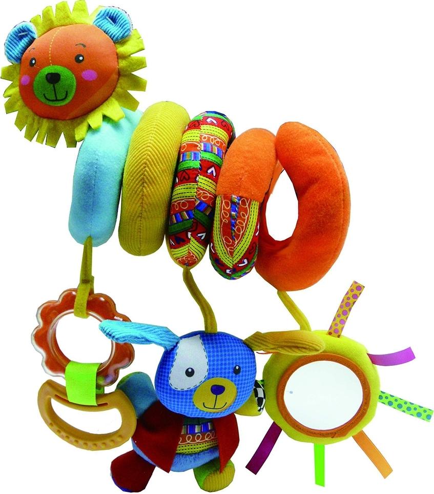 Купить BIBA TOYS Развивающая игрушка спираль ЛЁВА+ЗАЯ 50x35.5x30 см [HA910], Развивающие игрушки для малышей