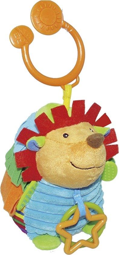 Купить BIBA TOYS Развивающая игрушка-подвеска ЕЖИК 17x15x10см [JF127], Подвески для малышей