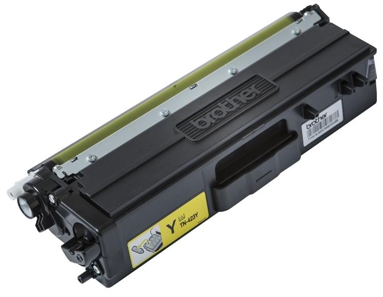 Картинка - Лазерный картридж Brother TN423Y