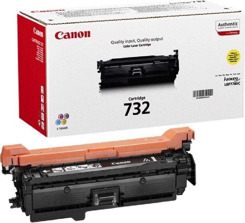 Лазерный картридж Canon 732 Yellow (6260B002) фото