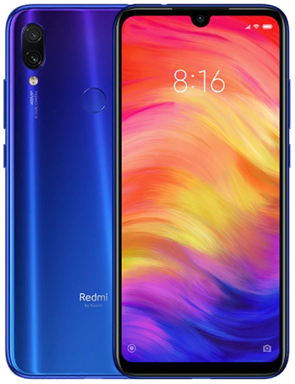 Смартфон Redmi Note 7 3/32GB синий