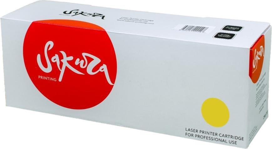 Купить Лазерный картридж SAKURA CE252A Yellow, SACE252A, Yellow (Желтый), Китай