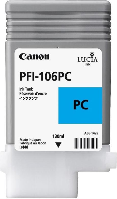 Струйный картридж Canon PFI-106 PC (Photo Cyan) (6625B001)