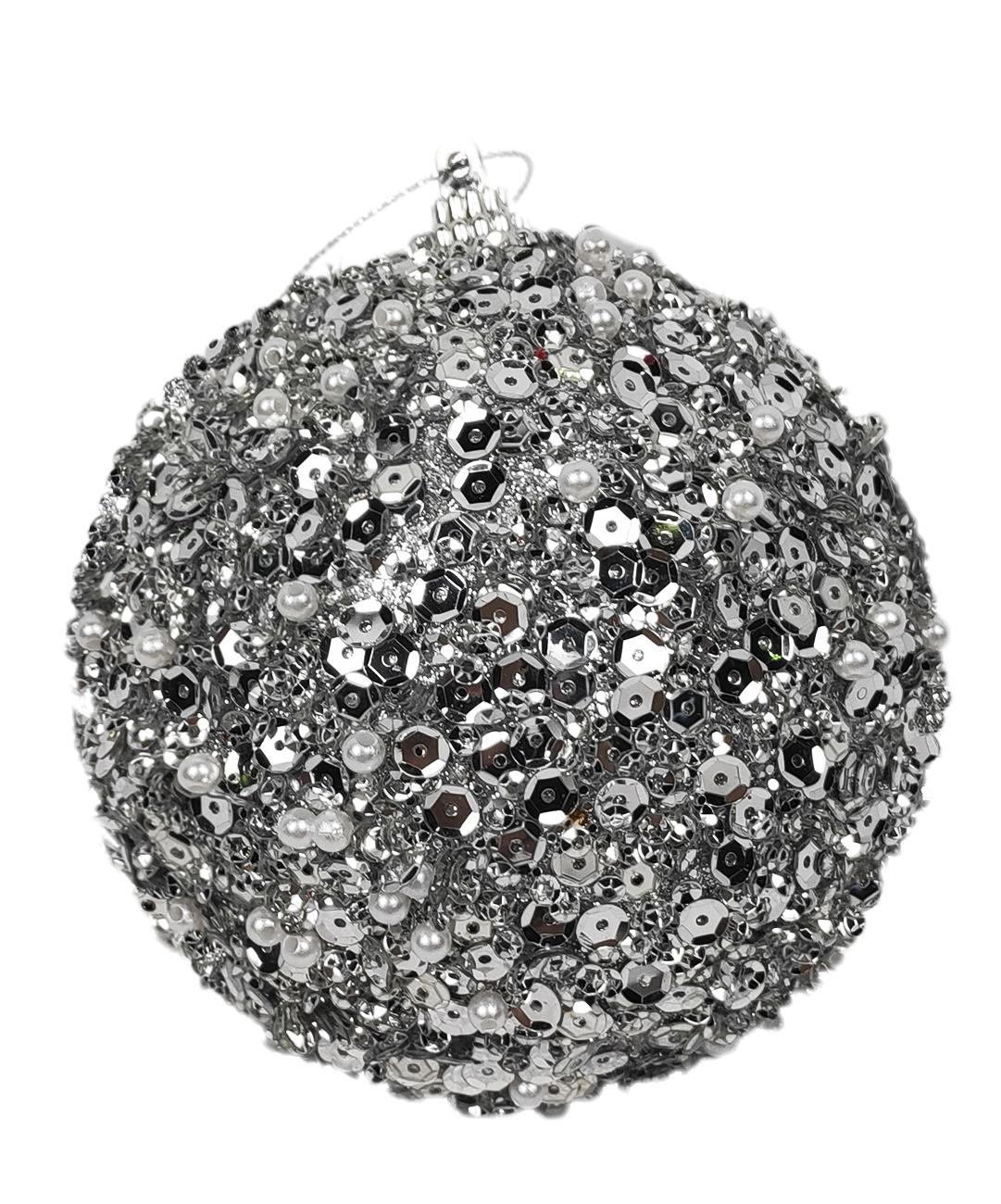 Ёлочная игрушка Jewel Night BC-580 8 см, 3 штуки