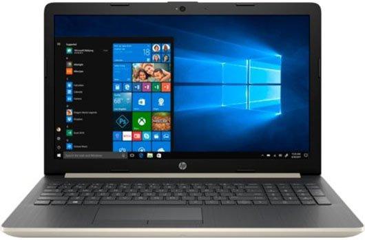 Ноутбук HP 15-da0457ur (7JY09EA) Золотистый, Китай  - купить со скидкой