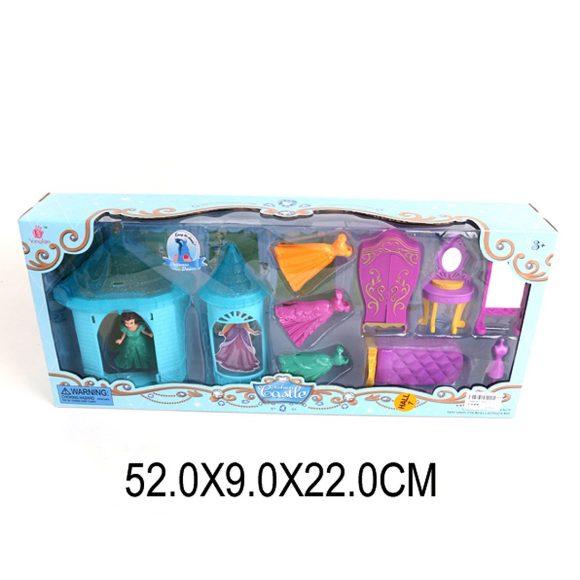Купить НАША ИГРУШКА Игровой набор, арт. SS017C [SS017C], пластик, Для девочек, Кукольные домики