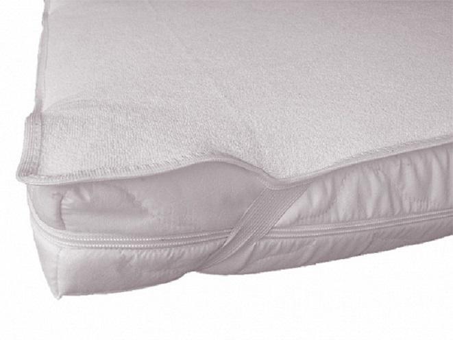 Купить NUOVITA Наматрасник на резинках 125х65 см, цвет: белый [N12565 191], Хлопок, Для мальчиков и девочек, Постельное белье для малышей