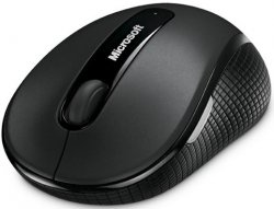 Беспроводная мышь Microsoft Wireless Mobile Mouse 4000 Graphite (D5D-00133)