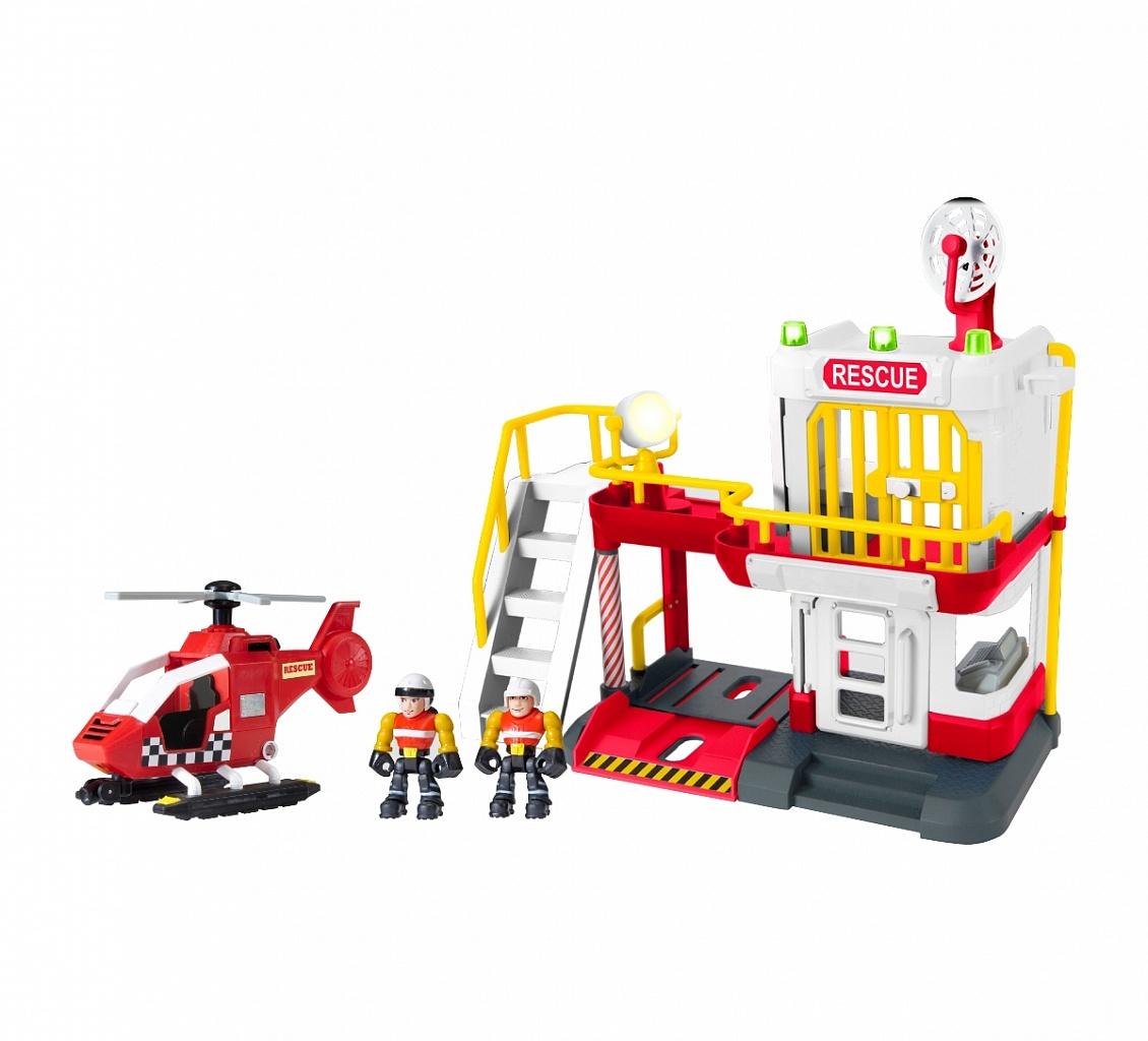 Купить Игровой набор TEAMSTERZ 1416250.00 Воздушные спасатели, пластик, Металл, Детские парковки и гаражи