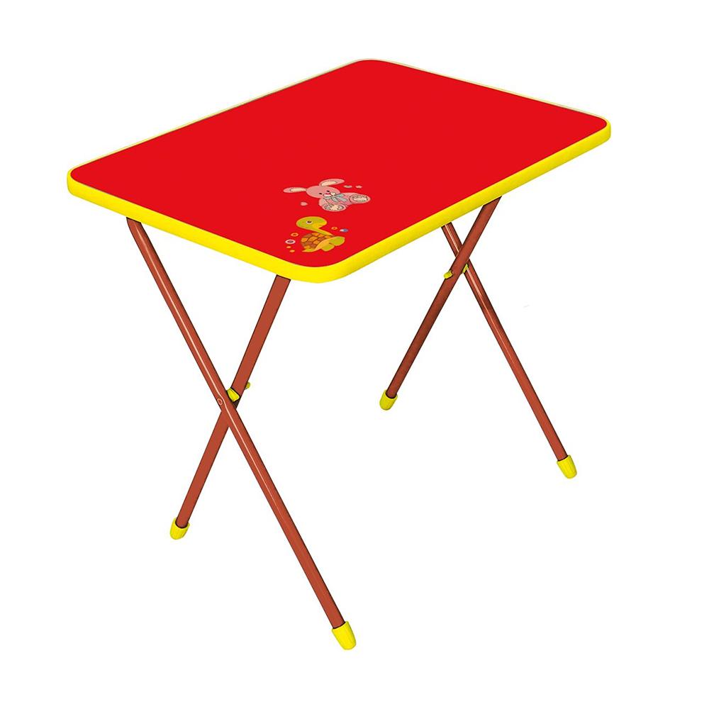 Купить НИКА Стол детский складной АЛИНА Красный [СА1], Россия, Парты и столы