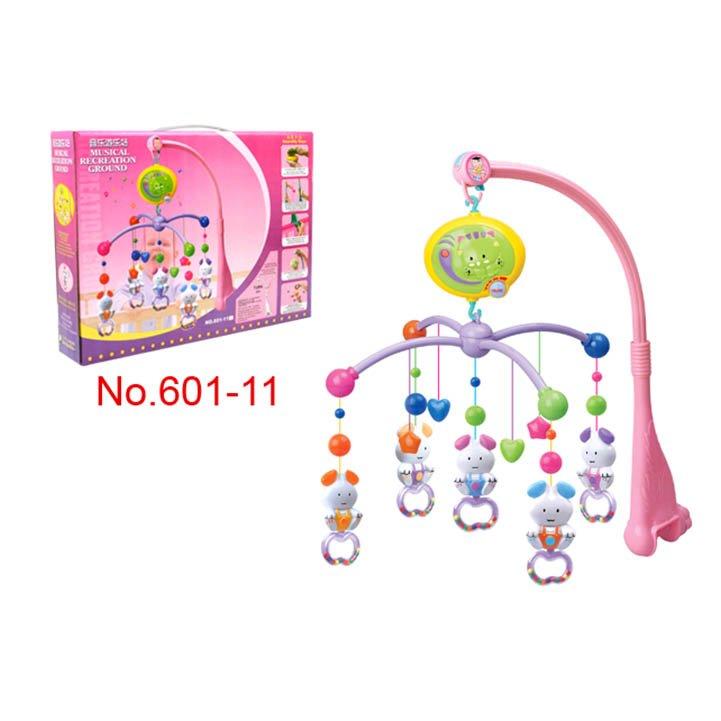 Купить НАША ИГРУШКА Подвеска на кроватку Мое солнышко Мышата звук. [601-11], Hengle toys, Многоцветный, пластик, Китай, Мобили для малышей