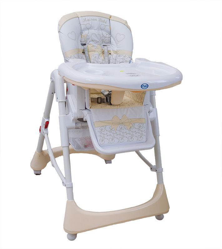 Купить 12354504, PALI Стульчик для кормления Smart Maison Bebe Baby Party [SMB baby party highchair], Стульчики для кормления малышей
