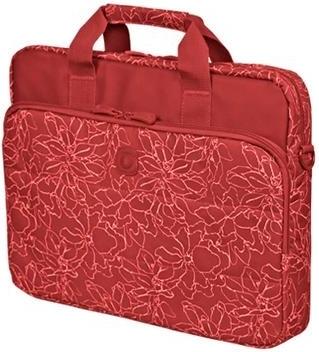 Купить Сумка для ноутбука 15.6 Continent CC-032 Redprints, Горизонтальная сумка, Красный