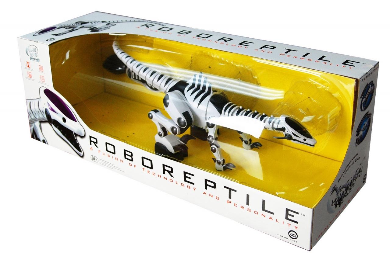 Купить Игрушка WOWWEE 8065 Робот Рептилия, пластик, Для мальчиков и девочек, Китай, Игрушечные роботы и трансформеры
