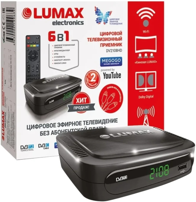 TV-тюнер LUMAX DV2108HD