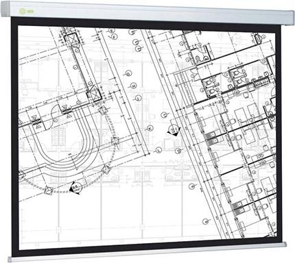 Экран Cactus 104.6x186см Wallscreen CS-PSW-104x186 16:9 настенно-потолочный рулонный белый фото