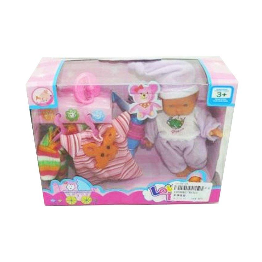 Купить НАША ИГРУШКА Пупс с аксес-ми Любимый малыш. [YD323], Китай, Куклы и пупсы
