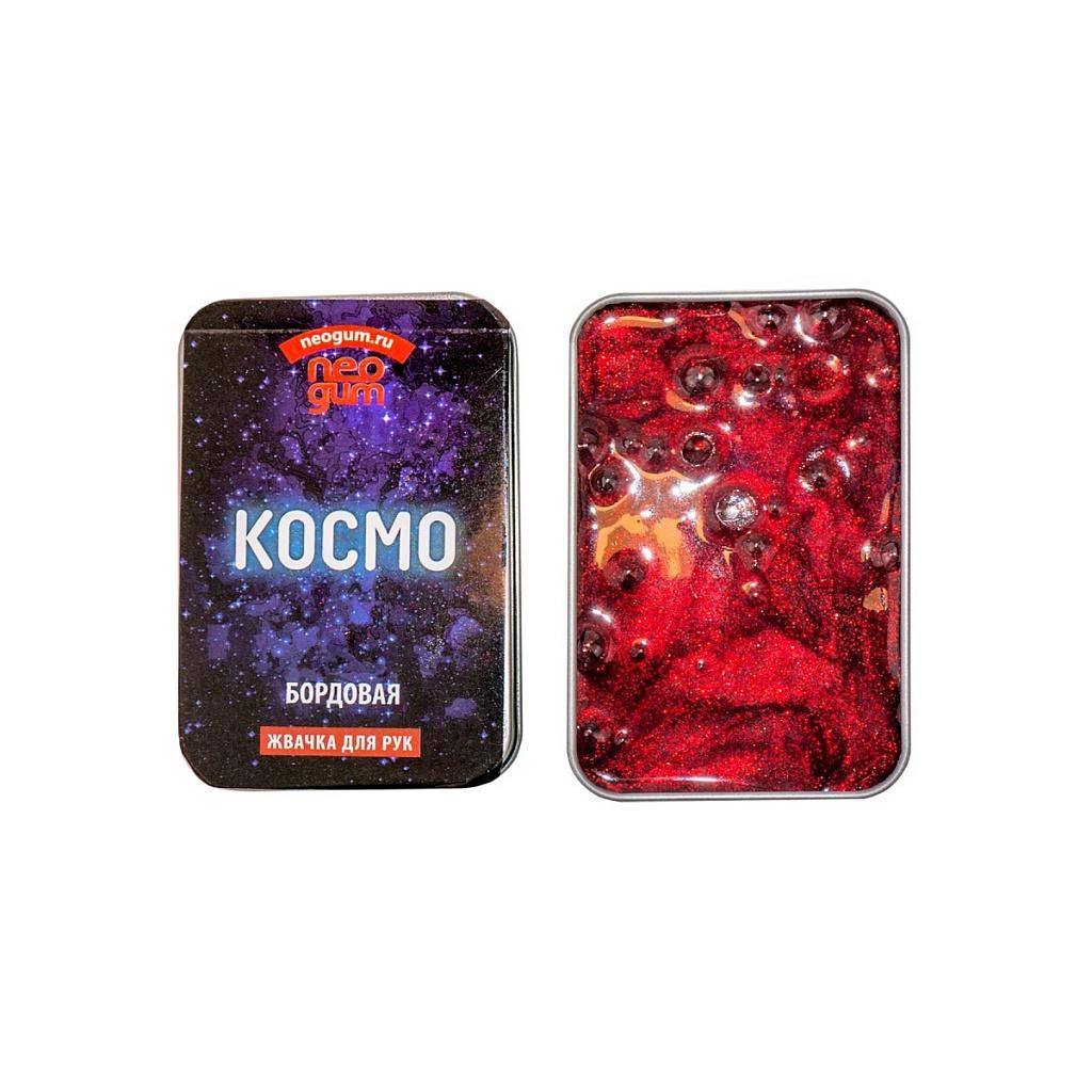 Купить Игра NEO GUM NGC005 Жвачка для рук Неогам Космо , бордовая, Силиконовая стружка, силиконовое масло, Для мальчиков и девочек, Игровые наборы и фигурки для детей