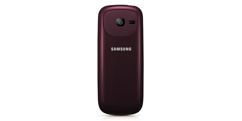 Телефон Samsung E2202 Wine Red GT-E2202WRASER