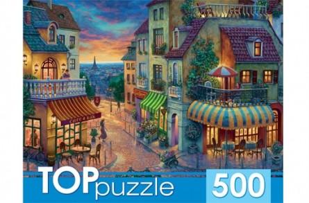 TOPpuzzle. Пазлы 500 элементов. ПАРИЖСКАЯ УЛИЦА [ХТП500-4224]