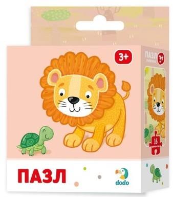 Купить DODO Пазл DoDo Львенок [R300165], Картон, Украина, Пазлы