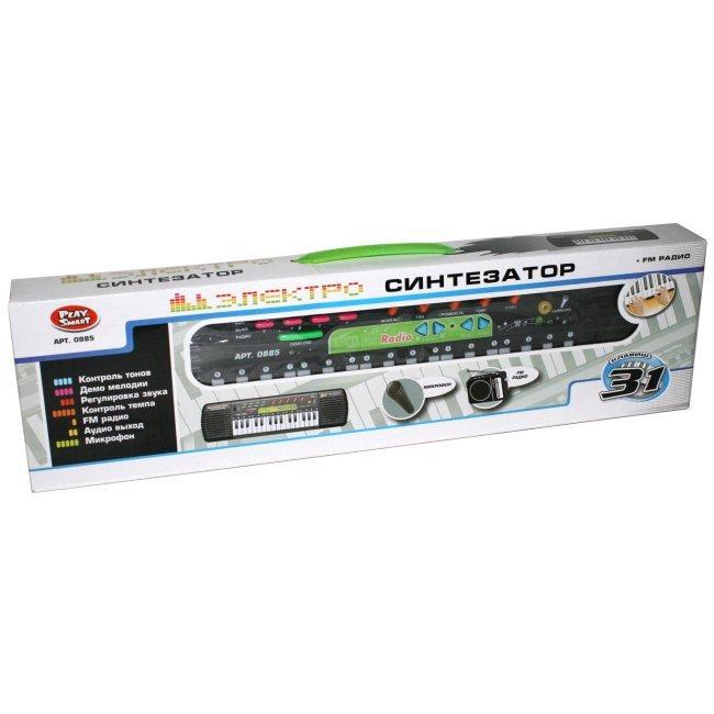 Купить PLAY SMART Синтезатор с микрофоном [0885/DT], пластик, Металл, Китай, Детские музыкальные инструменты