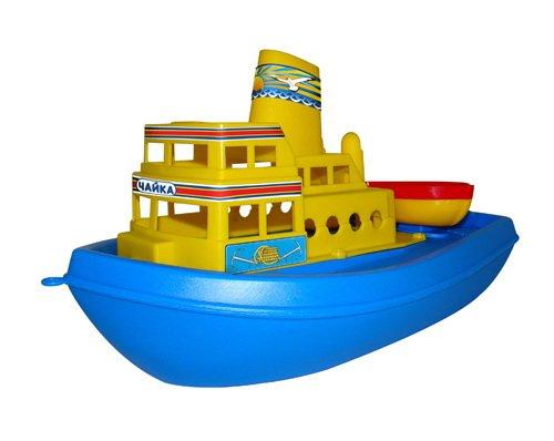 Купить ПОЛЕСЬЕ Корабль Чайка [36964], Беларусь, Детские игрушки для ванной