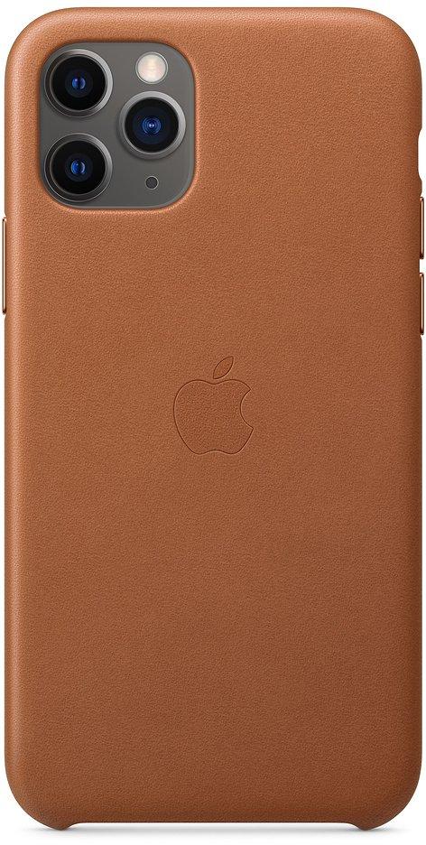 Чехол Apple для iPhone 11 Pro Leather, золотисто‑коричневый, накладка, Коричневый Оригинальный цвет: золотисто-коричневый, Китай  - купить со скидкой